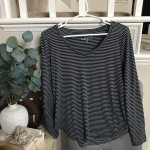 🍷LOFT long sleeve T-shirt!